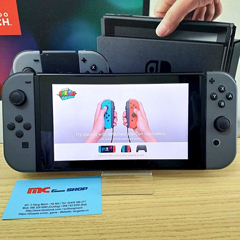 Switch gray joy-con, hàng 2nd hand fullbox