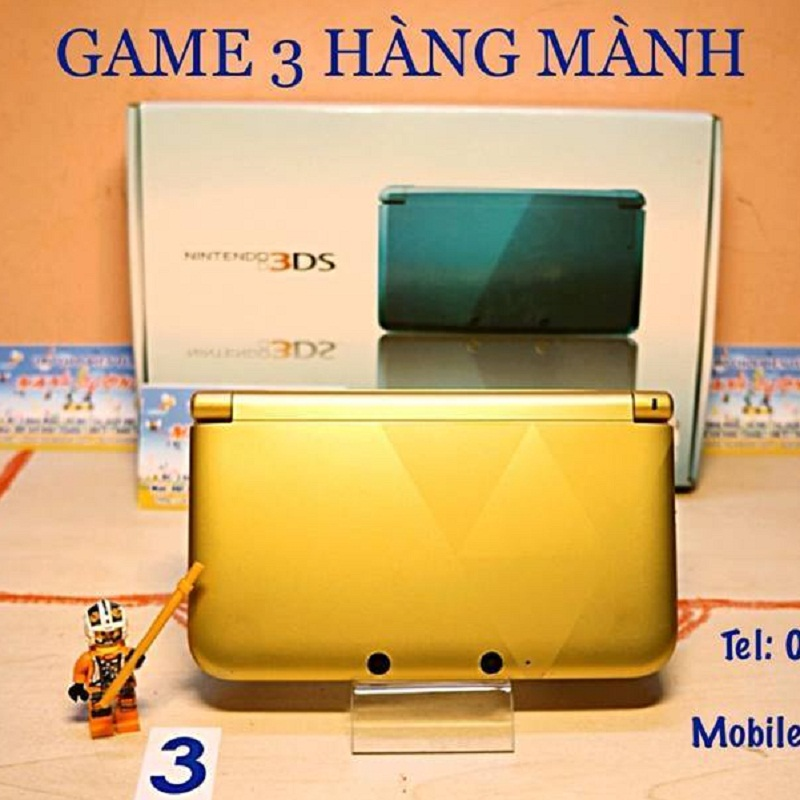 3DS XL Zelda Limited Edition , thẻ 32gb--HẾT HÀNG