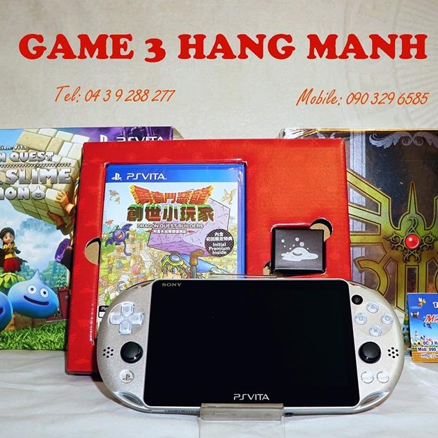 PS Vita Dragon Quest Metal Slime Edition-- HẾT HÀNG