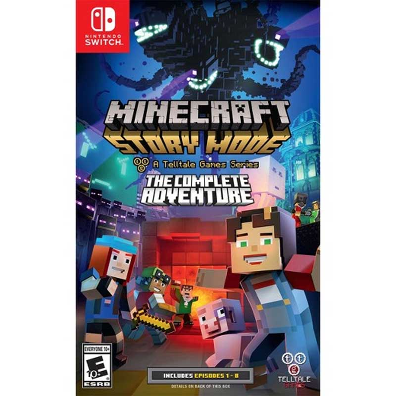 Minecraft: Story Mode - The Complete Adventure ( EU )-- HẾT HÀNG
