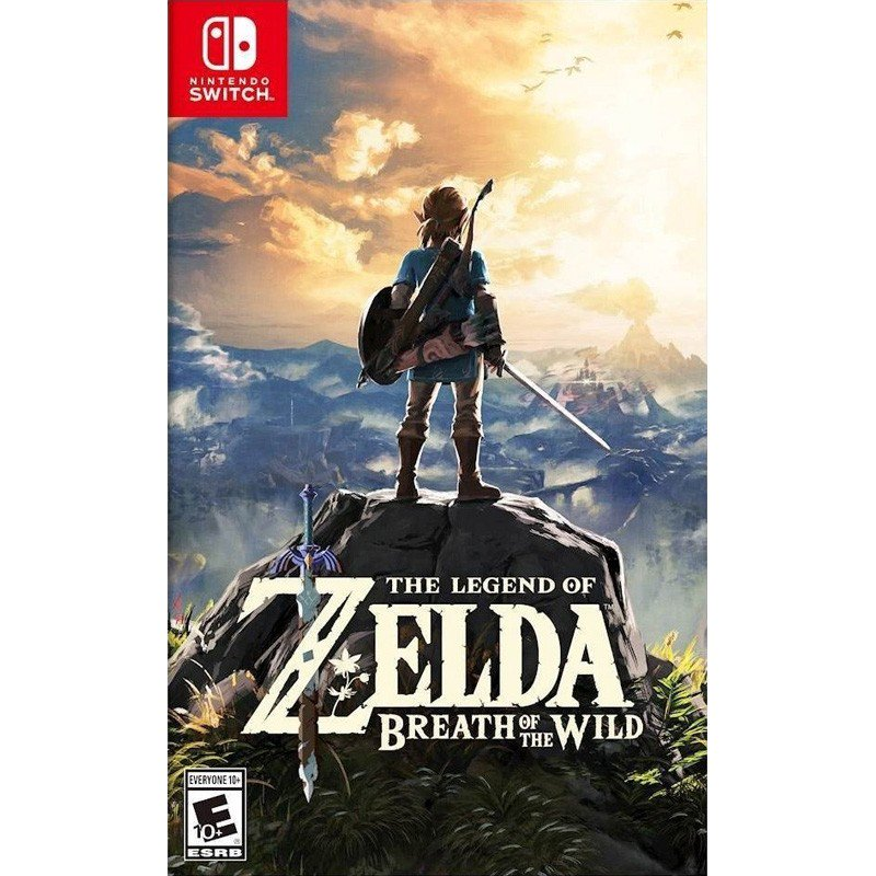 The Legend of Zelda: Breath of the Wild hàng 2nd hand---HẾT HÀNG