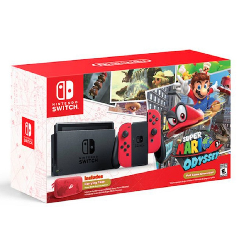 Nintendo Switch Super Mario Odyssey Edition US-- HẾT HÀNG