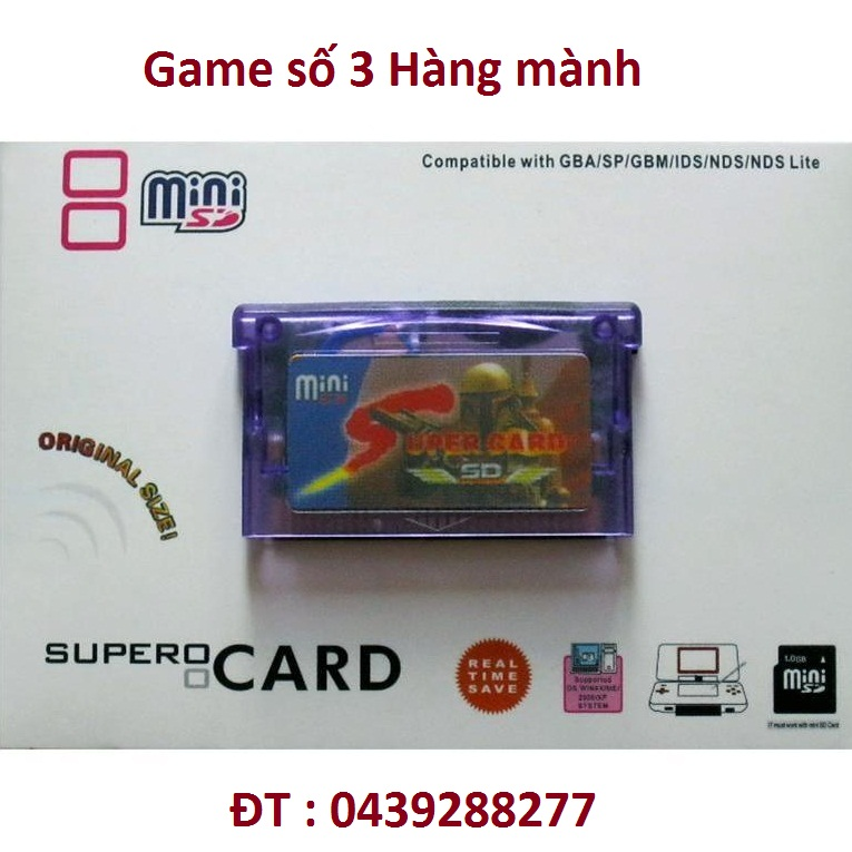 Super Card GBA