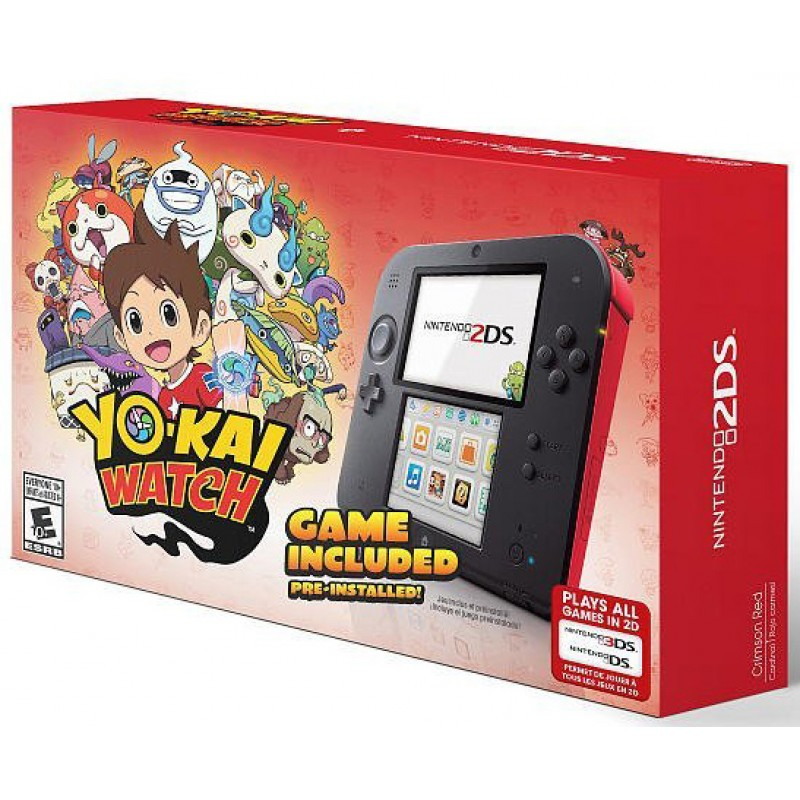 Nintendo 2DS Yo-Kai Watch Bundle--HẾT HÀNG