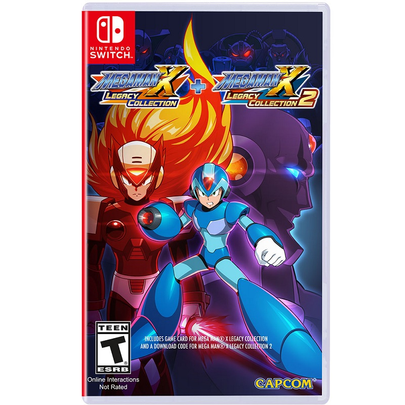 Mega Man X Legacy Collection 1 + 2 ( US )--TẠM HẾT HÀNG