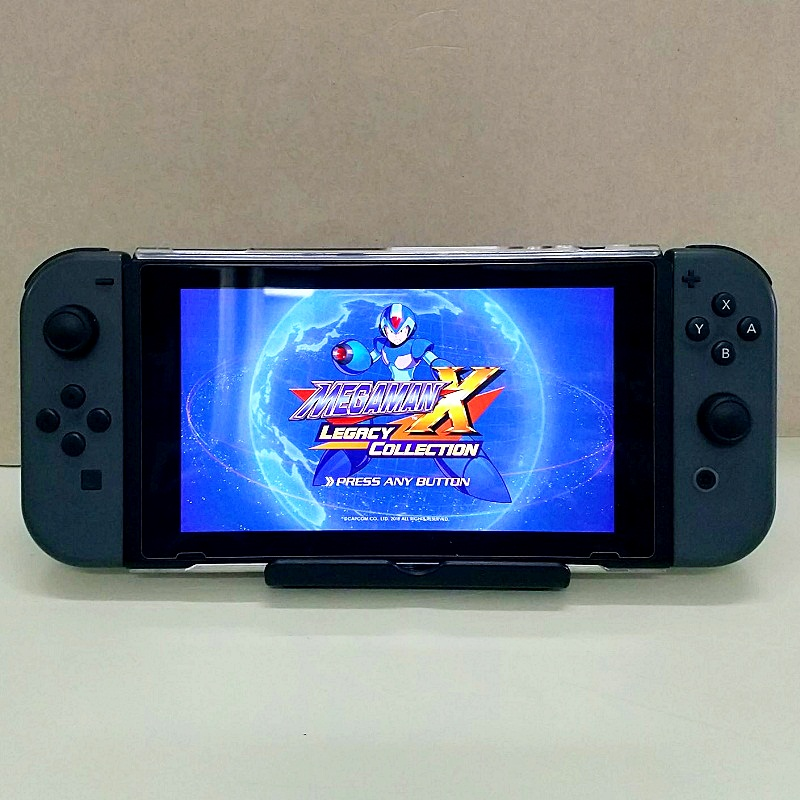 Nintendo Switch, game card Mega man X , hàng 2nd hand---HẾT HÀNG