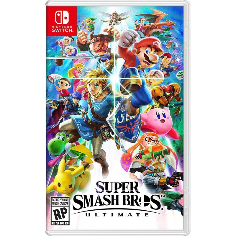 Super Smash Bros Ultimate ( US ) hàng 2nd hand---HẾT HÀNG