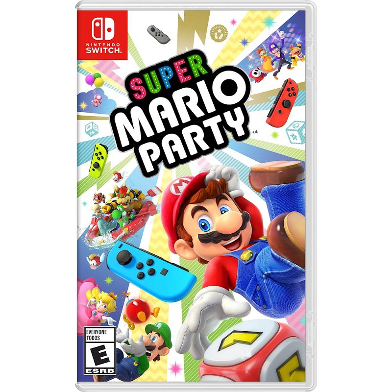 Super Mario Party ( US ) hàng 2nd hand LIKE NEW