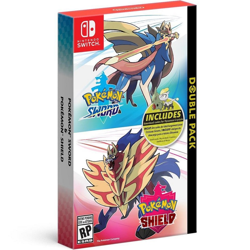 Pokemon Sword Shield Double Pack---HẾT HÀNG