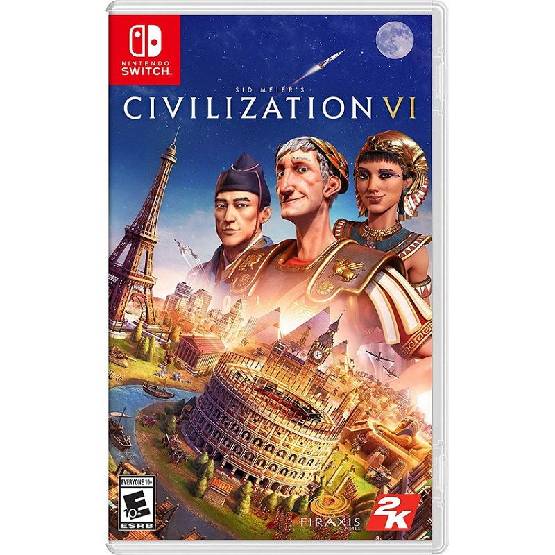 Sid Meier's Civilization VI hàng 2nd hand