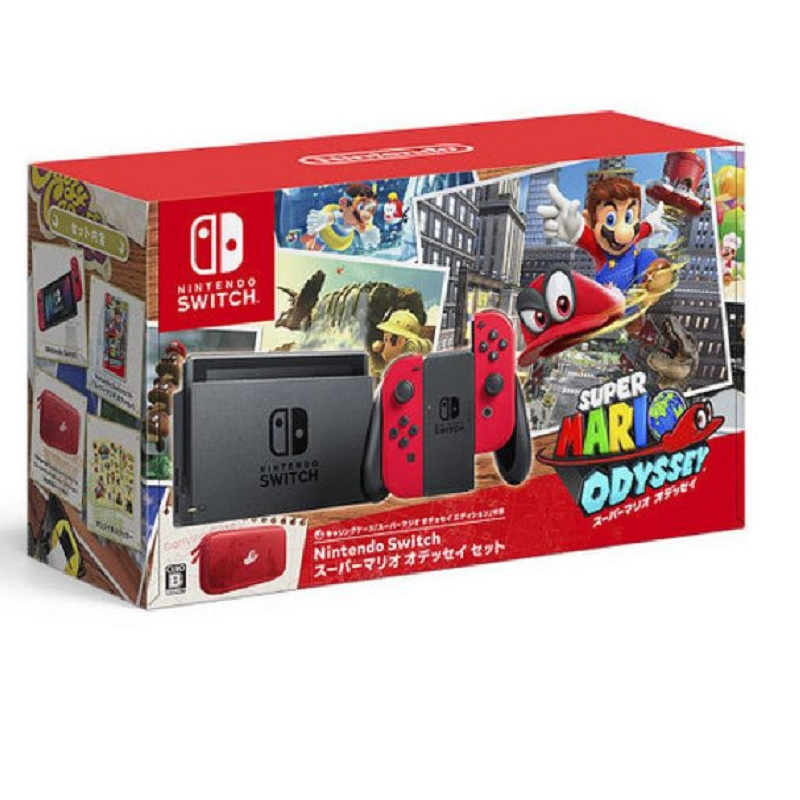 Nintendo Switch Super Mario Odyssey Edition Asian--TẠM HẾT HÀNG