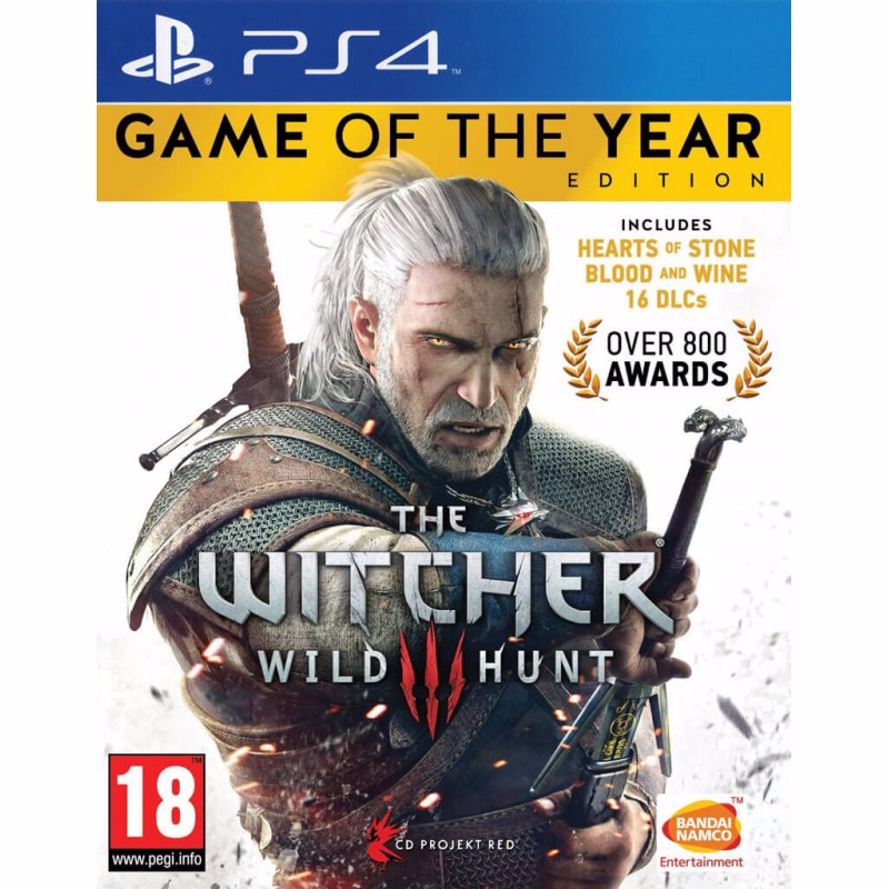 The Witcher 3: Wild Hunt  GAME OF THE YEAR Edition - EU