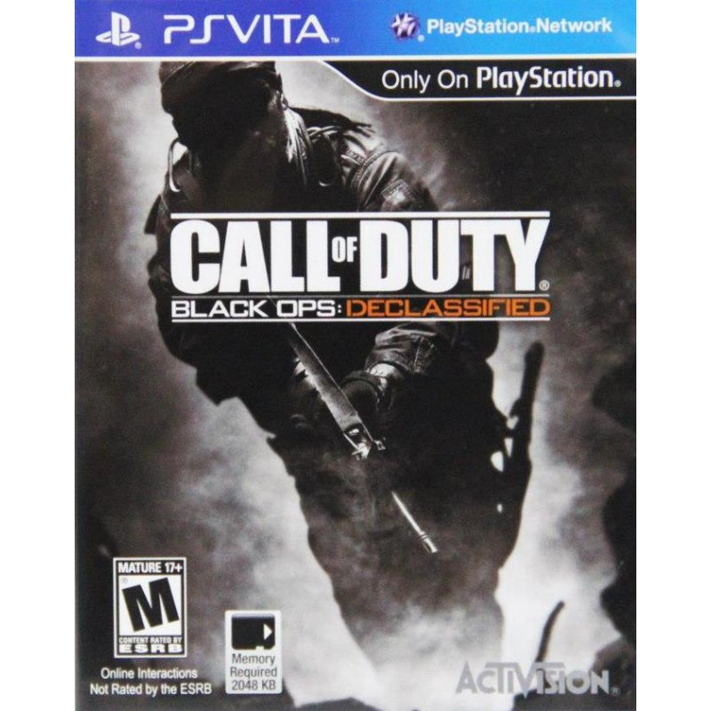 Call of Duty Black Ops: Declassified--- HẾT HÀNG