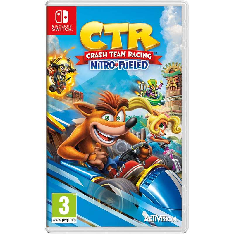 Crash Team Racing Nitro-Fueled ( EU ).
