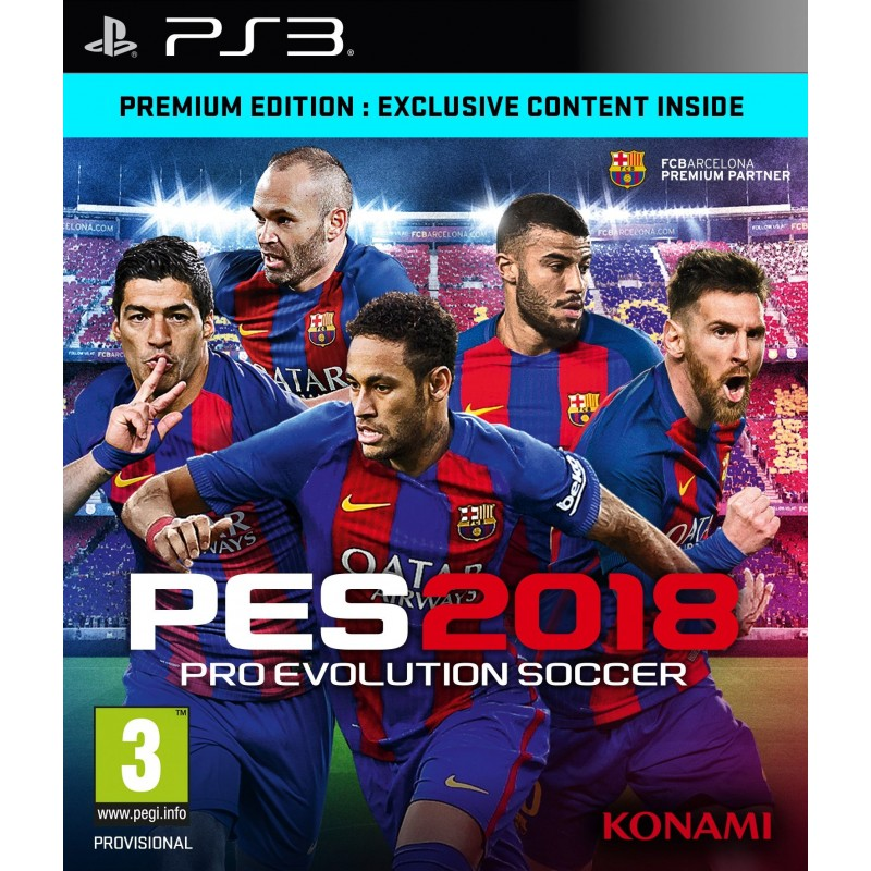 PES 2018--game PS3 copy vào ổ cứng
