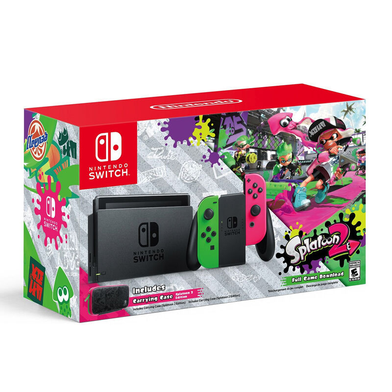 NINTENDO Switch Bundle Splatoon 2--HẾT HÀNG
