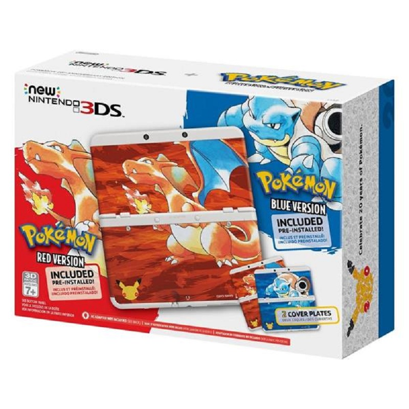 New Nintendo 3DS 20th Anniversary Pokémon--HẾT HÀNG