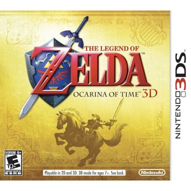 Legend of Zelda: Ocarina of Time 3D--TẠM HẾT HÀNG