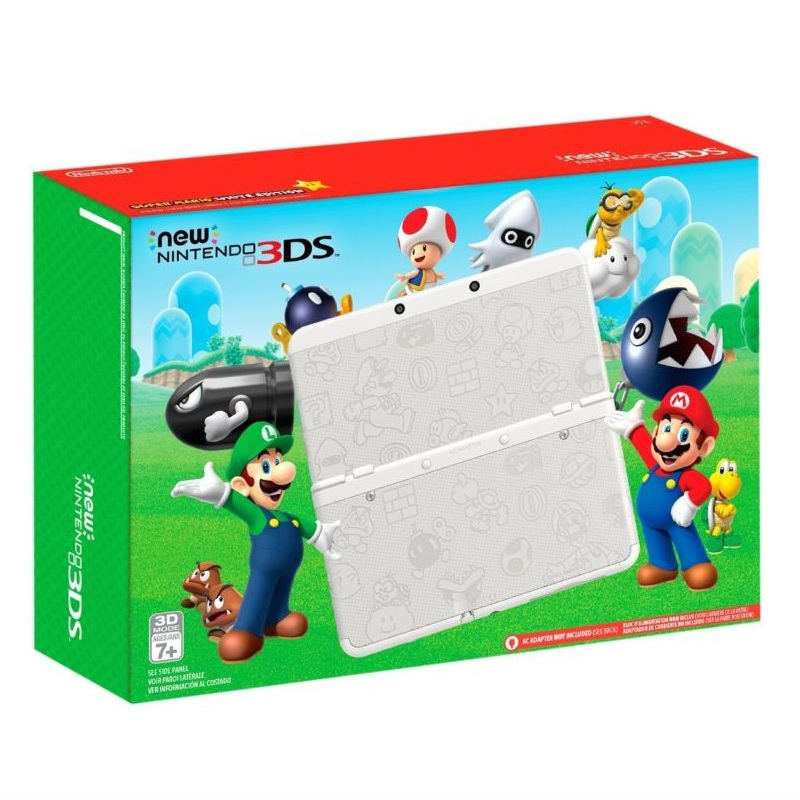 New Nintendo 3DS Super Mario White Edition--TẠM HẾT HÀNG