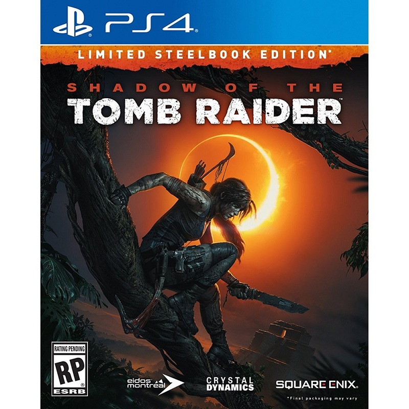 Shadow of the Tomb Raider Steelbook ( Asian )