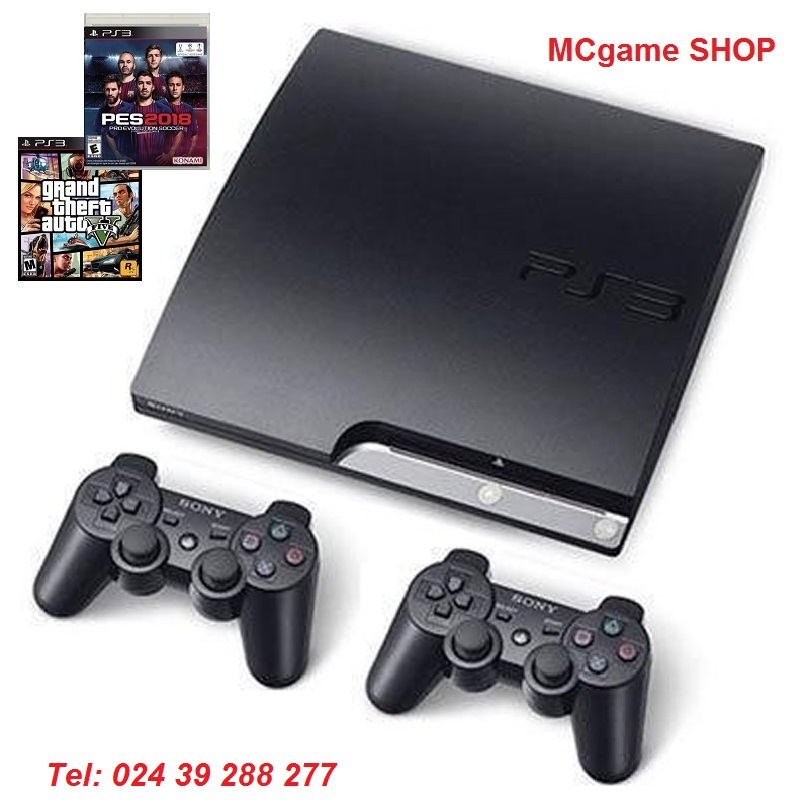 PS3 slim CECH- 3012A ổ 250gb ( Đã cop 20 Games)