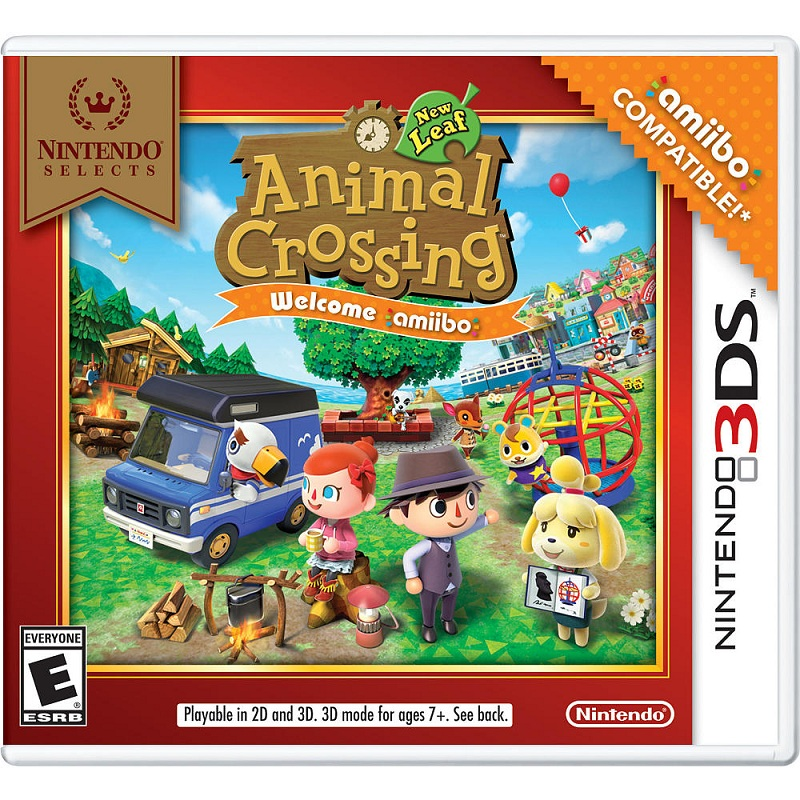 Animal Crossing: New Leaf--TẠM HẾT HÀNG