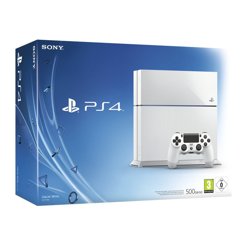 PS4 500GB-White New ( FW hack )---HẾT HÀNG