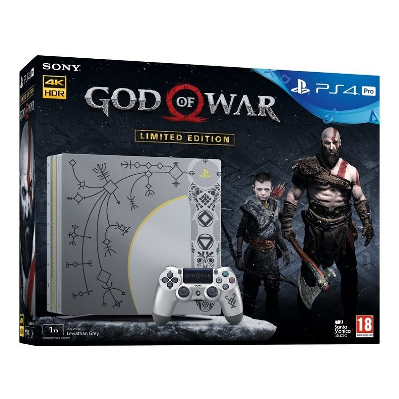PS4 Pro God of War Limited Edition--TẠM HẾT HÀNG