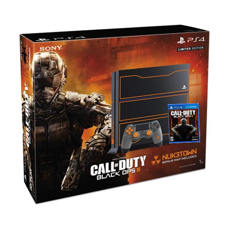 PS4 1TB Call Of Duty Black Ops III Bundle-- HẾT HÀNG.