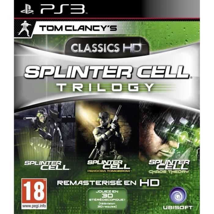 Tom Clancy Splinter Cell Trilogy