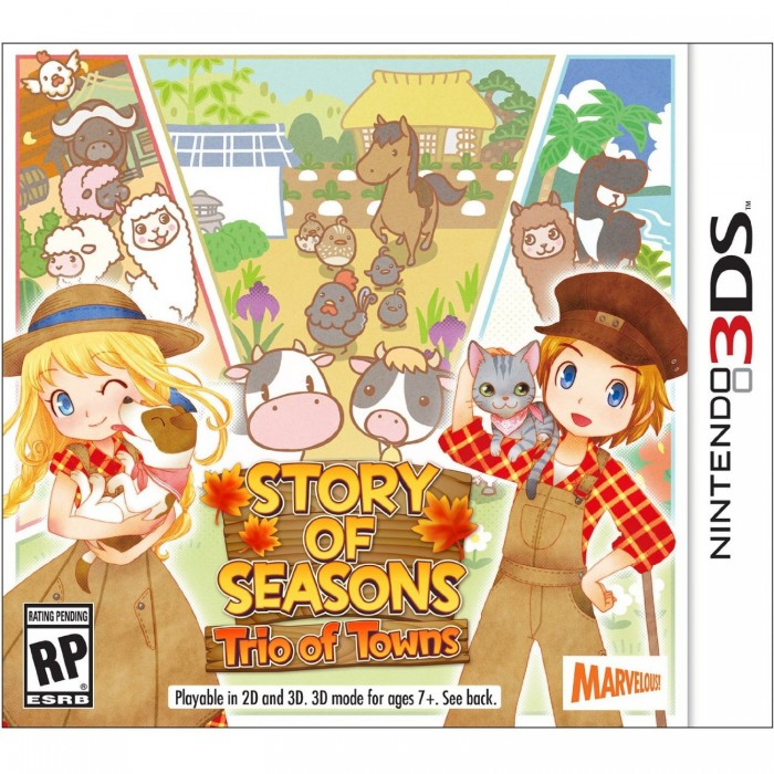 Story of Seasons Trio of Towns--TẠM HẾT HÀNG