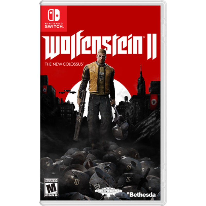 WOLFENSTEIN II: THE NEW COLOSSUS ( US ) , 2nd hand--HẾT HÀNG