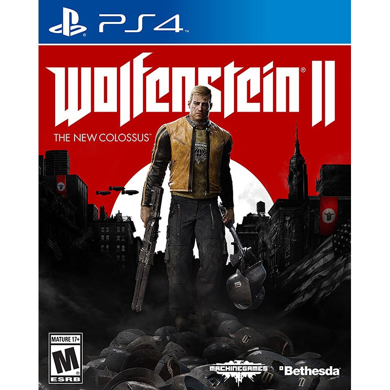 WOLFENSTEIN II: THE NEW COLOSSUS ( ASIAN )
