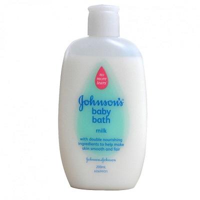 Gohnson's baby bath