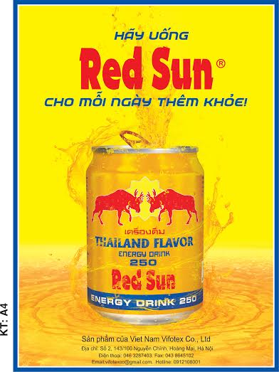 Red Sun energy drink