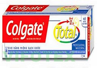 Toothpaste Colgate Total Professional Whitening