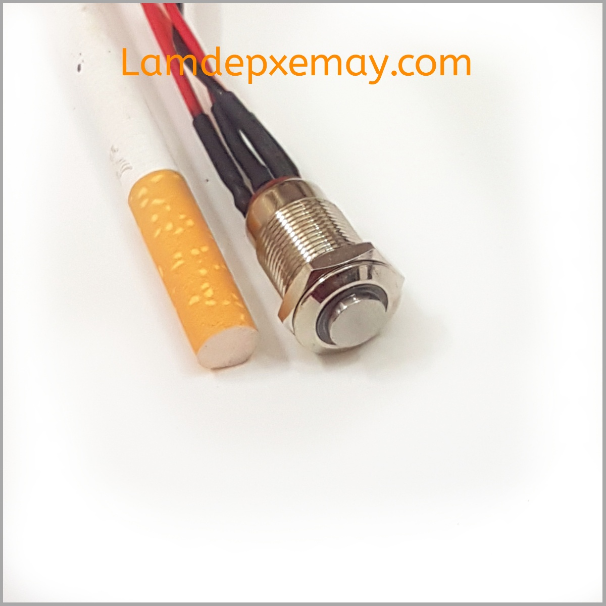 Công tắc led inox 12mm
