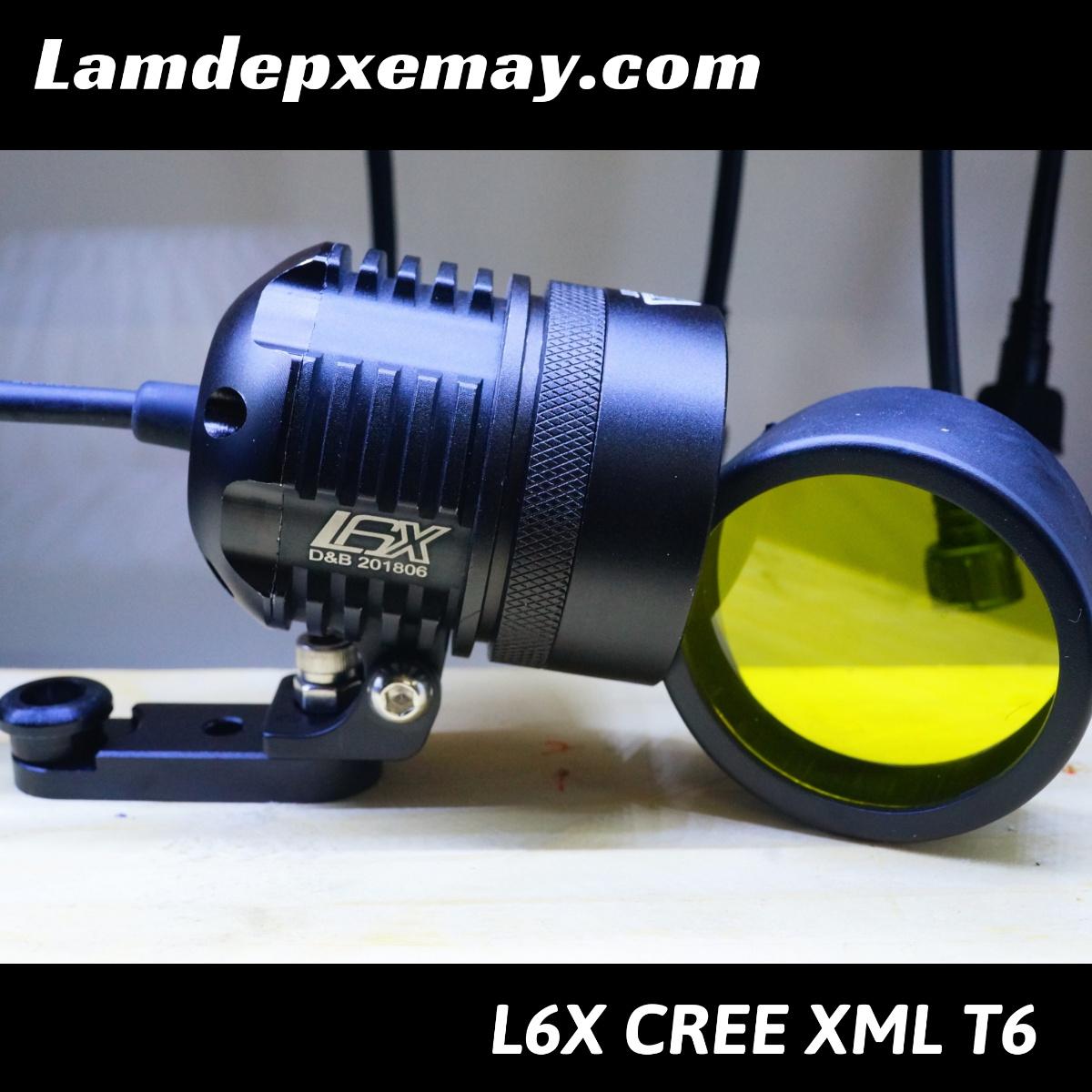L6x kính tím XML T6 ( ngưng bán )