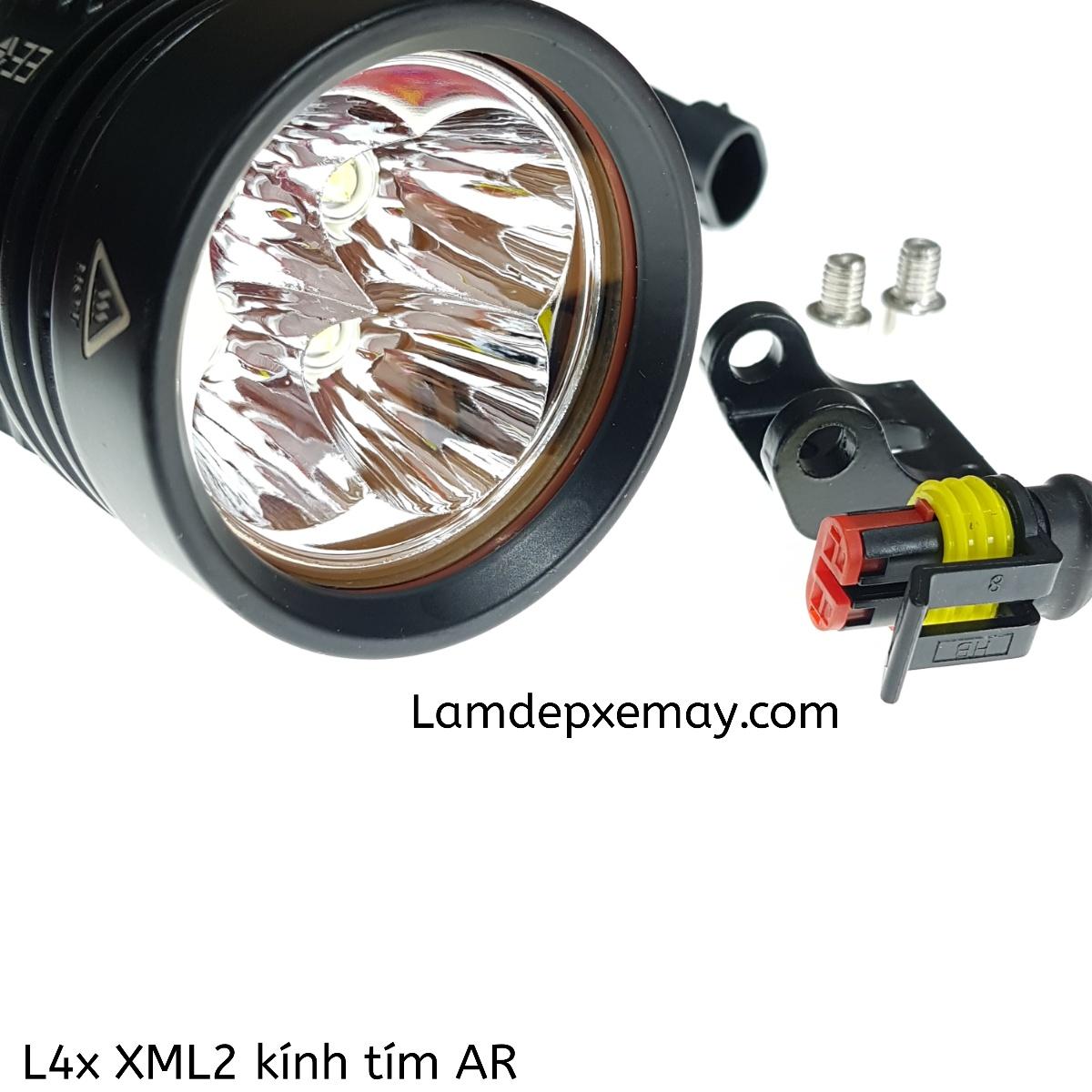 L4x XML2 kính tím AR