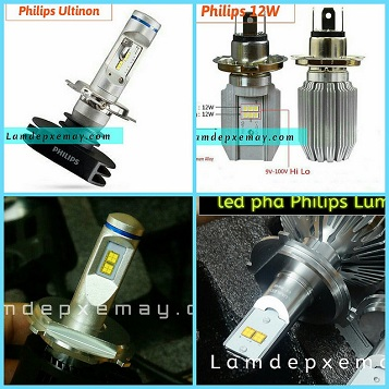 Led pha cos chip led Philips Germany ( bỏ mẫu )