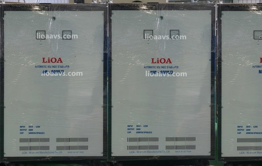 Ổn áp lioa NM-600K - 3 pha