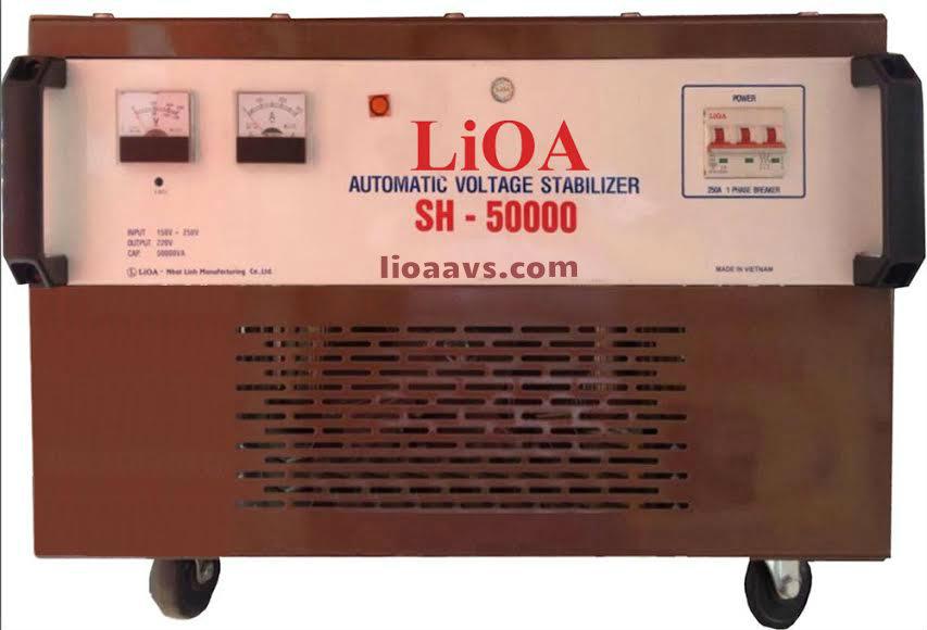 LIOA 50KVA/1PHA(150V-250V) ( HÀNG CŨ )