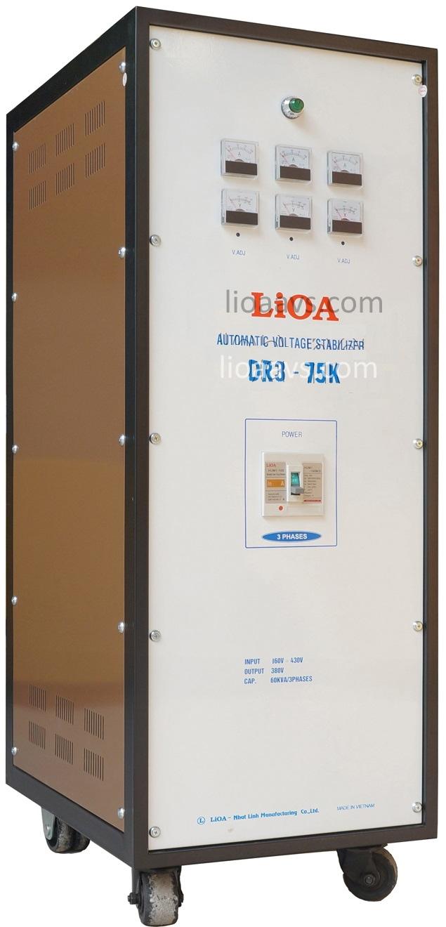 Ổn áp lioa DR3- 75K - 3 pha