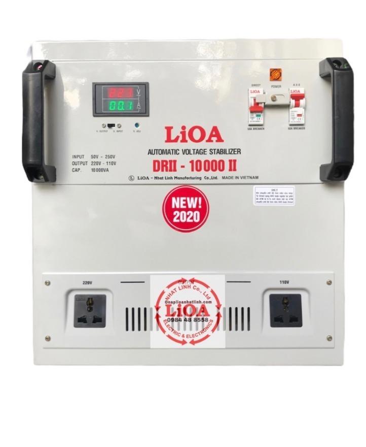 ỔN ÁP LIOA 10KVA DRII-10000II NEW2020