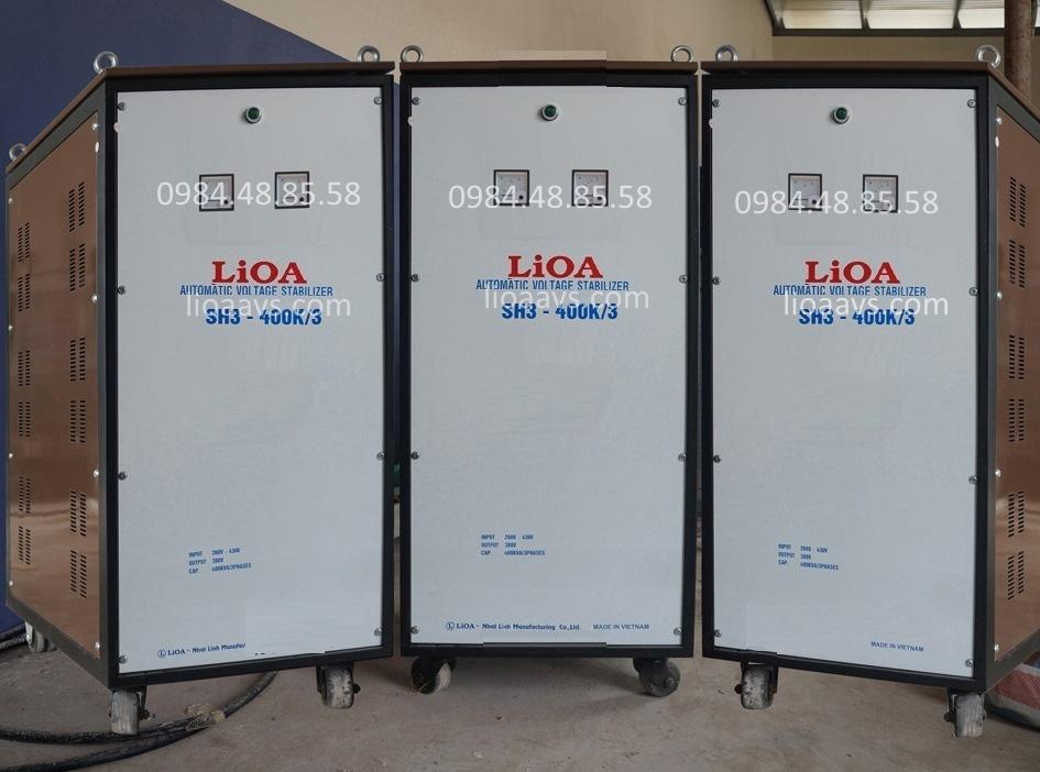 Ổn áp lioa SH3-400K - 3 pha