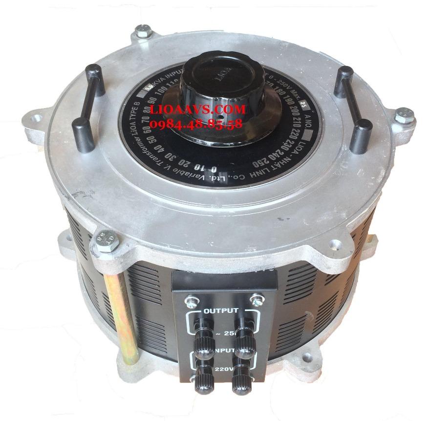 Biến áp vô cấp 1 pha SD2525 LIOA