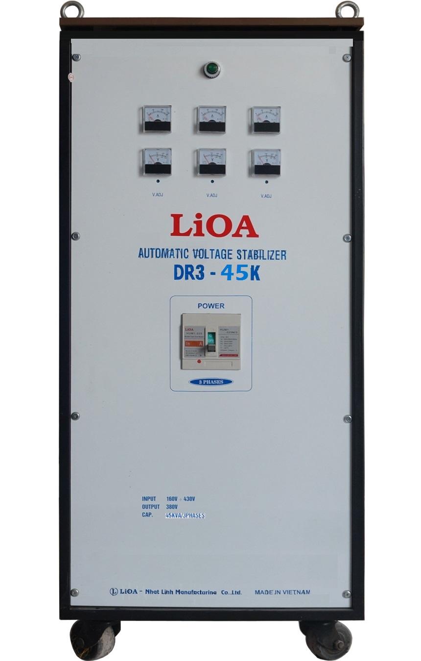 Ổn áp lioa DR3-45K