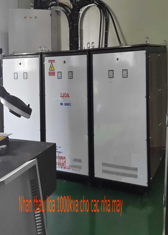 Ổn áp lioa NM-1000K - 3 pha