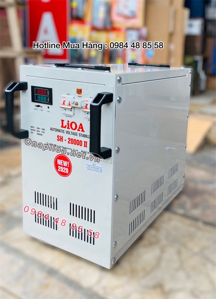 LIOA 20KVA , ỔN ÁP LIOA 20KVA , LIOA SH-20000II