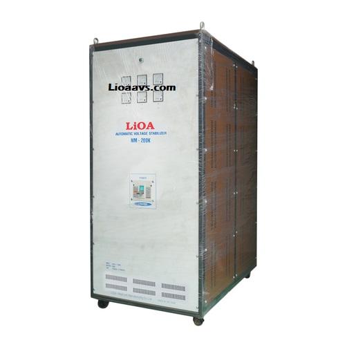 Ổn áp LiOA 3P khô NM-200KVA